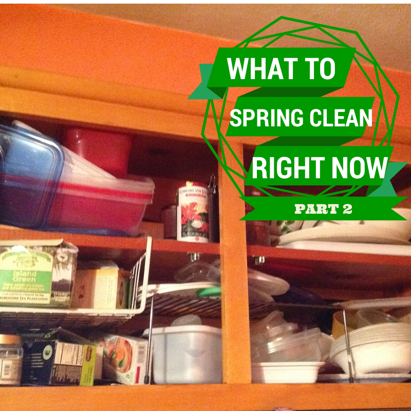 Spring clean, self-care, stress less, organize, stress managment
