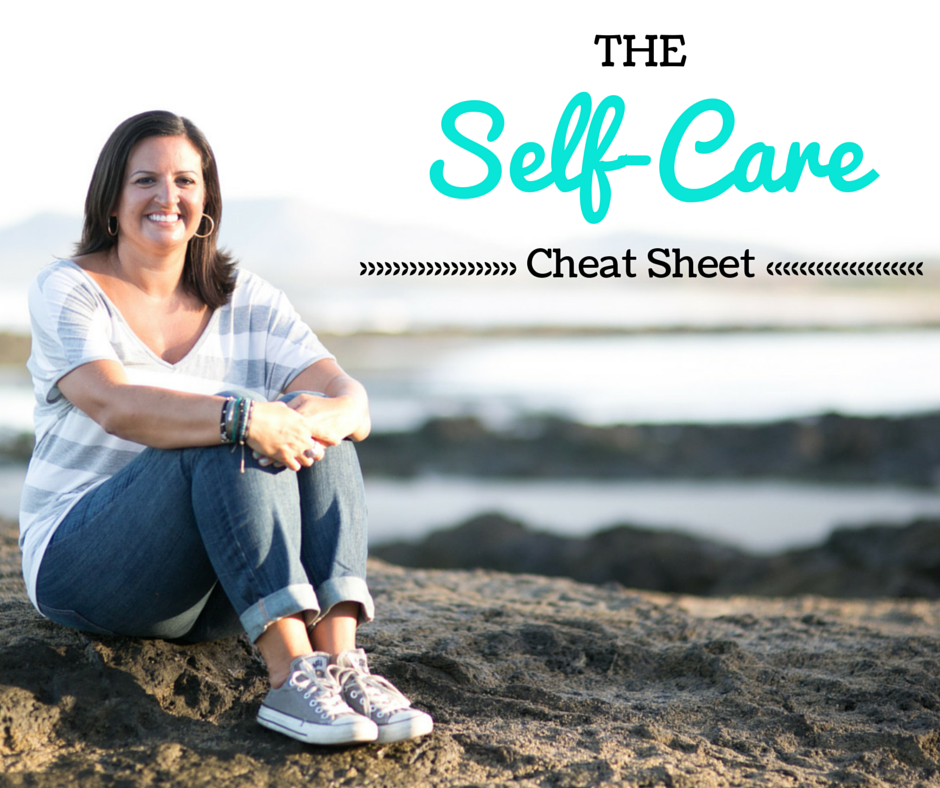 selfcare, self care, cheat sheet